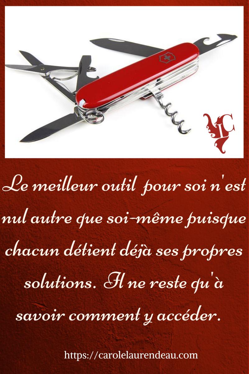 Les outils pour ses problèmes